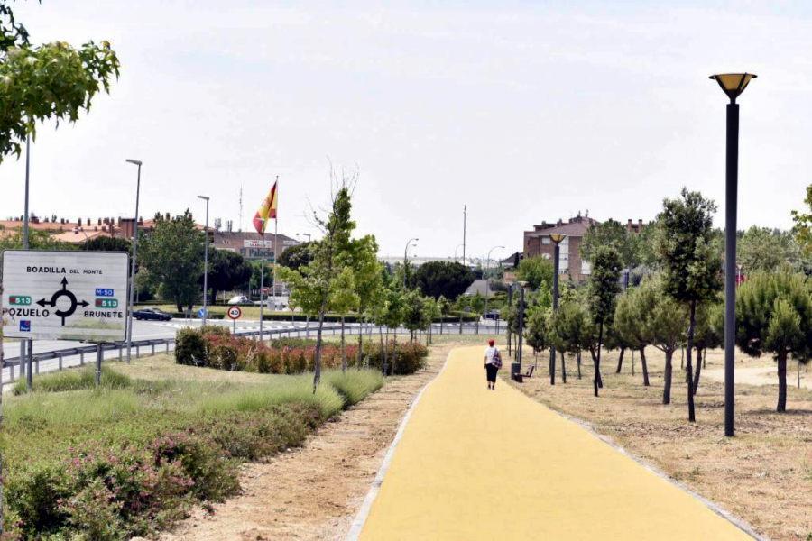 Senda peatonal Valdepastores-casco urbano
