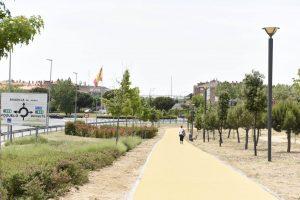 Finalizada la senda peatonal que une Valdepastores con el casco urbano de Boadilla