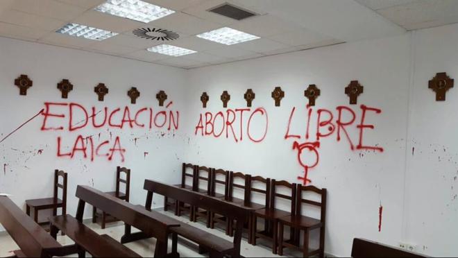 Foto de Marta Pastor de la Capilla de la Universidad Autónoma