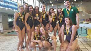 Encinas de Boadilla-Villalcor Campeonas de España waterpolo Infantil femenino 2