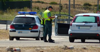 Guardia Civil en acción