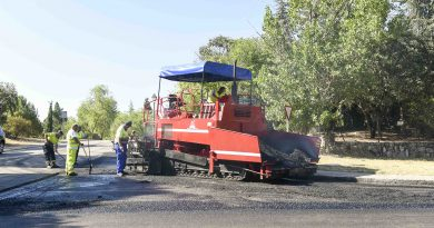Operación asfalto Boadilla 2016