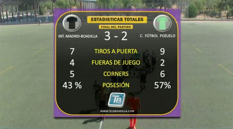 Boadilla gana a Pozuelo en fútbol tercerca División1