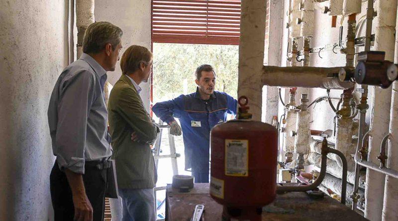 Cambio de la caldera en el colegio José Bergamín de Boadilla del Monte