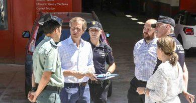 Más seguridad en agosto en los comercios y en Prado del Espino
