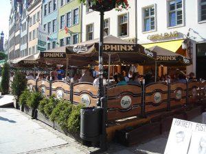 Terraza de un bar