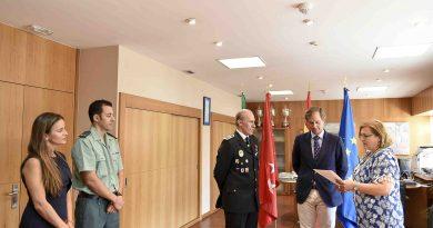 Manuel Asenjo jura como oficial su cargo de Jefe de Policía Local de Boadilla del Monte