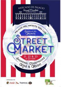Cartel del Mercado del Palacio Octubre