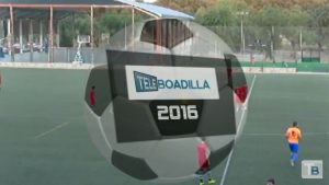 Fútbol de Tercera División. Logo de fútbol de Teleboadilla