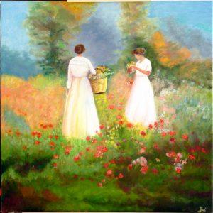 pintura de Mª Asunción Iribertegui Álvarez