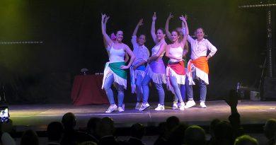 Bailarinas de la escuela Pilar Dominguez