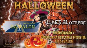 Fiesta de Halloween en Gávalon