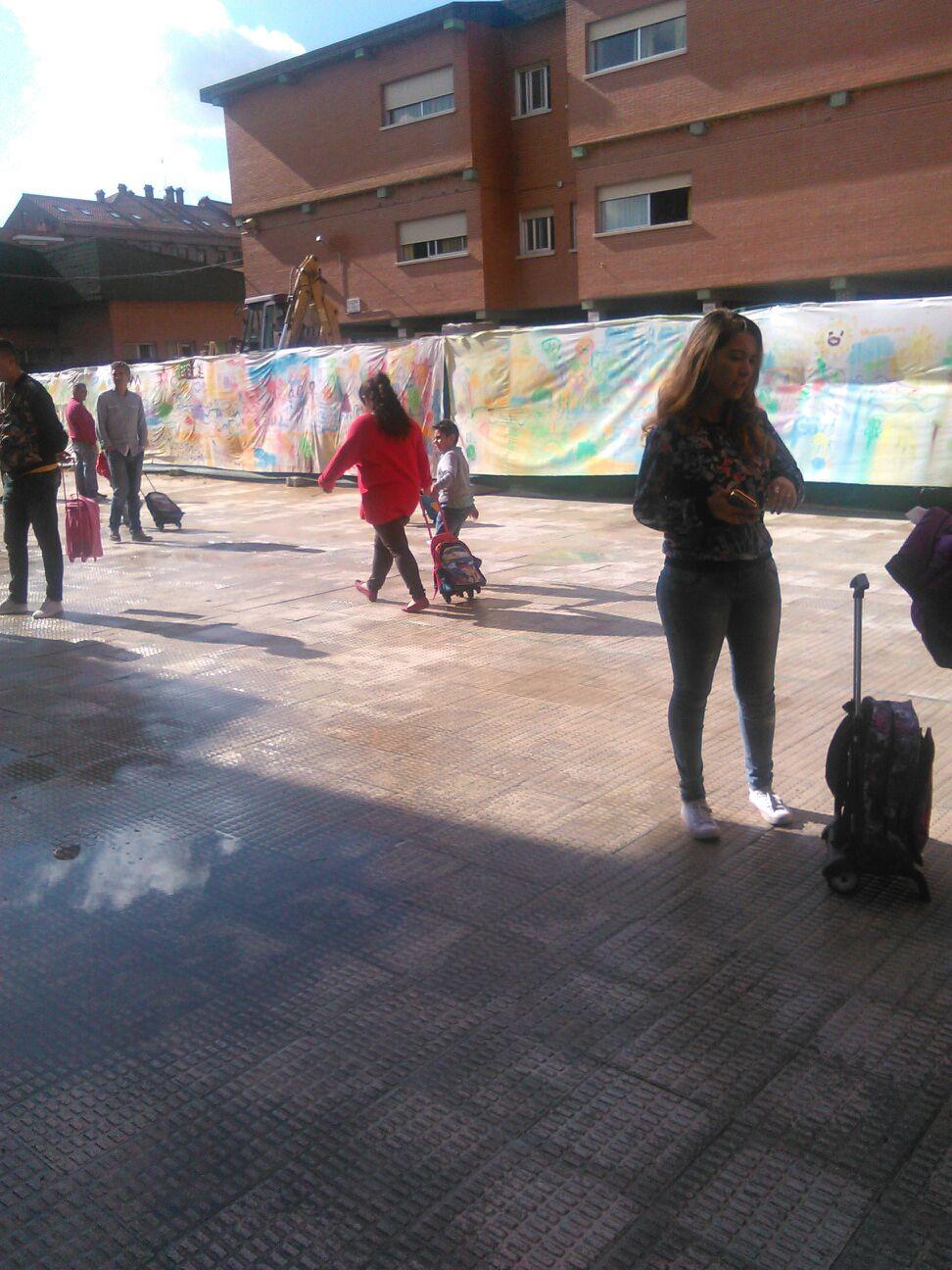 Obras en el colegio Príncipe Felipe de Boadilla del Monte