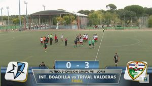 Inter Boadilla 0 Trival Valderas Alcorcón 3