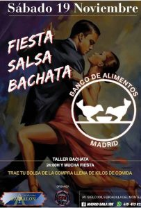Salsa-bachata en Gávalon