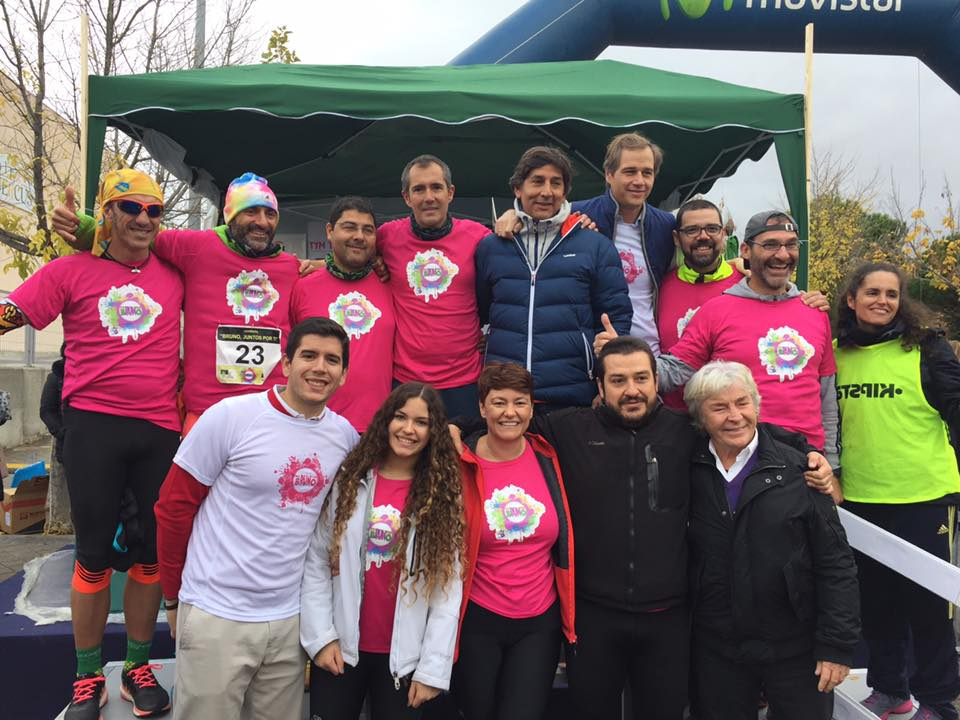Carrera solidaria por Bruno