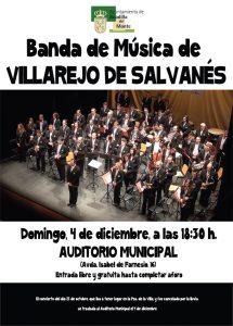 Concierto Banda de Villarejo de Salvanés