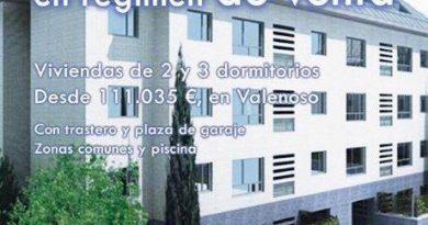 La EMSV promueve 95 nuevas viviendas protegidas en régimen de venta en Valenoso