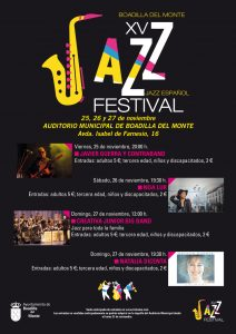 XV Festival de Jazz de Boadilla 2016