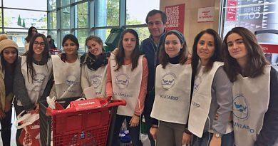 Recogida de alimentos jovenes y solidarios