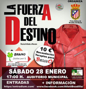 "Musical ""La fuerza del destino"". 17 junio @ Auditorio Municipal"