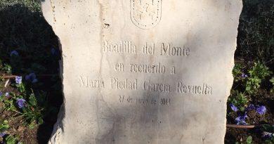 Homenaje a la desaparecida María Piedad