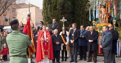 Homenaje a San Sebastián