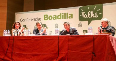 Conferencia del Juez de Menores Emilio Calatayud en Boadilla del Monte