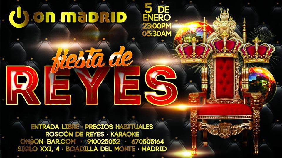 Noche de Reyes en On Madrid