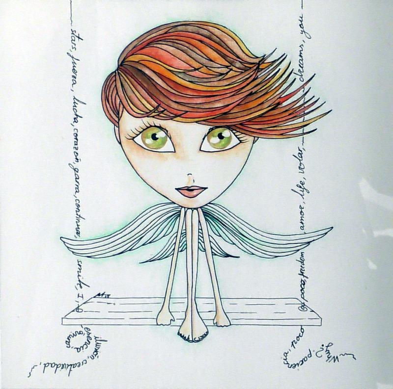 Retrato Amelia Morán