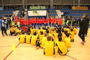clinic fútbol sala en Boadilla