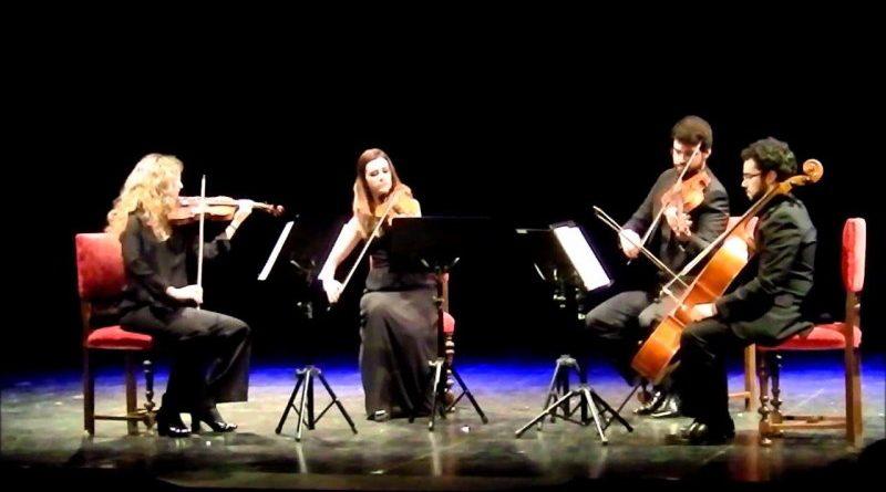 Cuarteto de cuerda Chagall