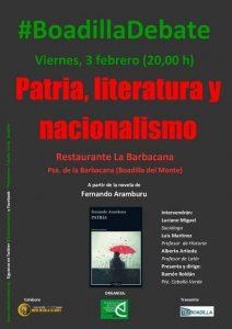 Patria, literatura y nacionalismo. Debate de Caballo Verde