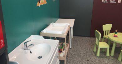 Sala para cuidados infantiles