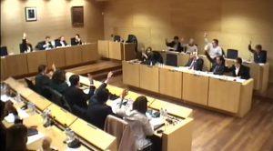 Votacion Pleno Municipal