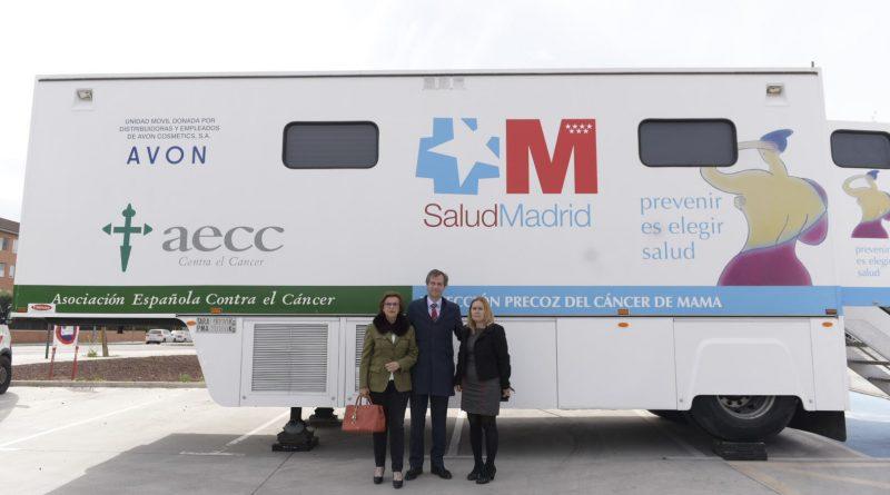 Campaña cáncer de mama en Boadilla