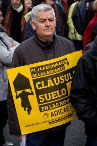 Manifestación cláusulas suelo