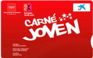 Carnet joven de la Comunidad de Madrid