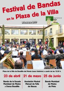 Banda municipal de Pinto @ Plaza de la Cruz | Boadilla del Monte | Comunidad de Madrid | España