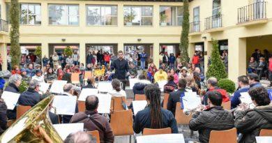 Festival de bandas en la Plaza de la Cruz