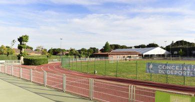 Pista de atletismo del Colegio Virgen de Europa