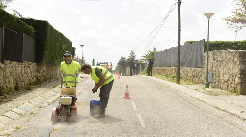 Renovación integral iluminación El Olivar de Mirabal