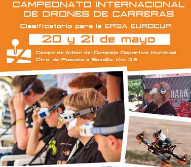 Campeonato Internacional de Drones en Boadilla