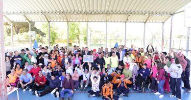 III Torno inclusivo de fútbol sala y baloncesto
