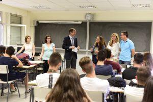 125 alumnos del Máximo Trueba participan en el proyecto de voluntariado Aprendizaje y Servicio