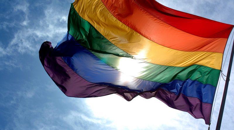 Bandera arco iris que representa al LGTB