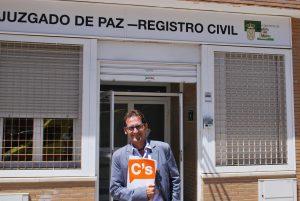 Ciudadanos solicita la informatización del Registro Civil