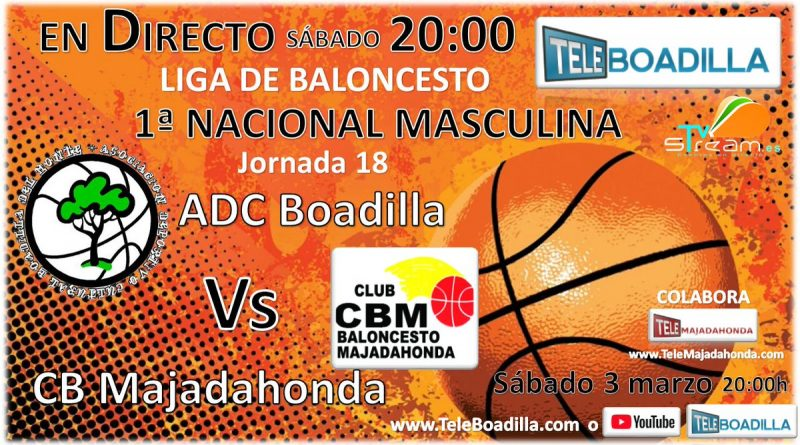 Baloncesto Boadilla vs Majadahonda