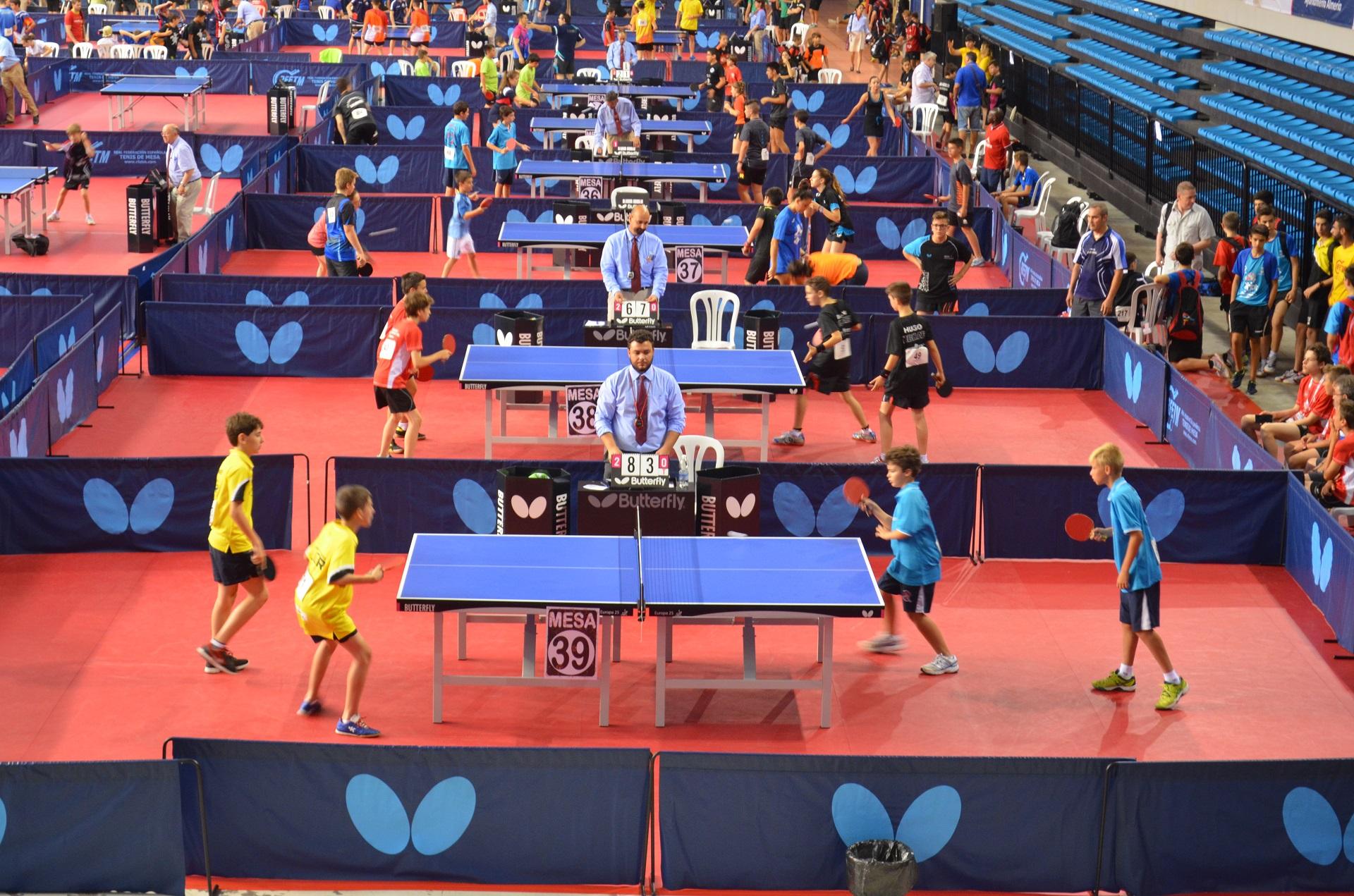 El boadilla tenis de mesa se la juega en el campeonato de for Madison tenis de mesa