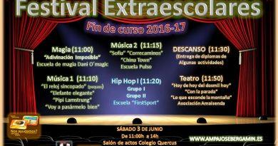 Festival de Extraexcolares AMPA José Bergamín